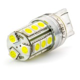 7443-x18-T: 7443 LED Bulb - Dual Intensity 18 SMD LED Tower