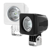 AUX-10W-SxB: 2&quot; Square 10 Watt LED Mini Auxiliary Work Light 