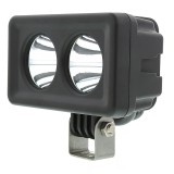 AUX-20W-D15: 4&quot; Dual LED Mini Auxiliary Work Light - 20W