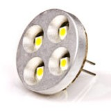 G4B-RHP4-DAC-DI: LED G4 Lamp, 4 LED Disc type with Back Pins