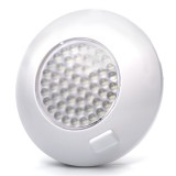 TDLS-W54: Round Dome Light LED Fixture with 3 Position Switch