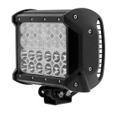 "ORB-72WQ-CB: 6.5"" Quad Row Heavy Duty Off Road LED Light with Combo Beam - 72W"