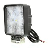"WL-CWHP15-S60-DI: 4"" Square 15W Super Duty High Powered LED Flood Light"