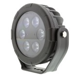"WL-CWHP48-R40-DI: 6"" Round 48W Super Duty High Powered LED Spot Light"