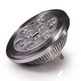 AR111-xW9W-60: LED AR111 Flood Lamp - 9x1W LEDs
