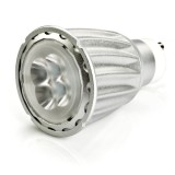 GU10-x7W-38-DI: White 7 Watt LED GU10 Bulb